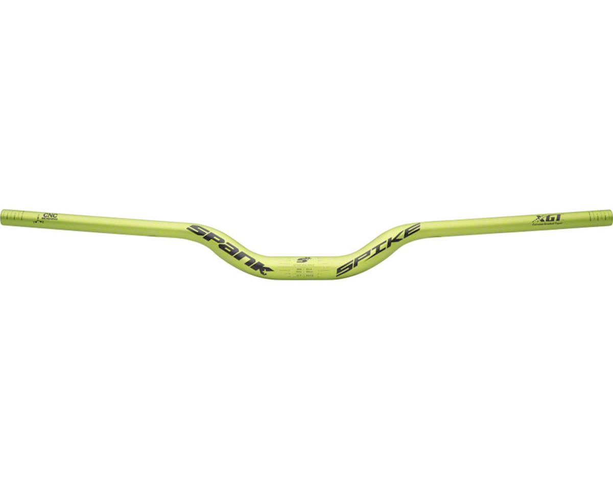 Spank Spike Race Bars 800mm Wide, 50mm Rise, 31.8mm Clamp Matte Green
