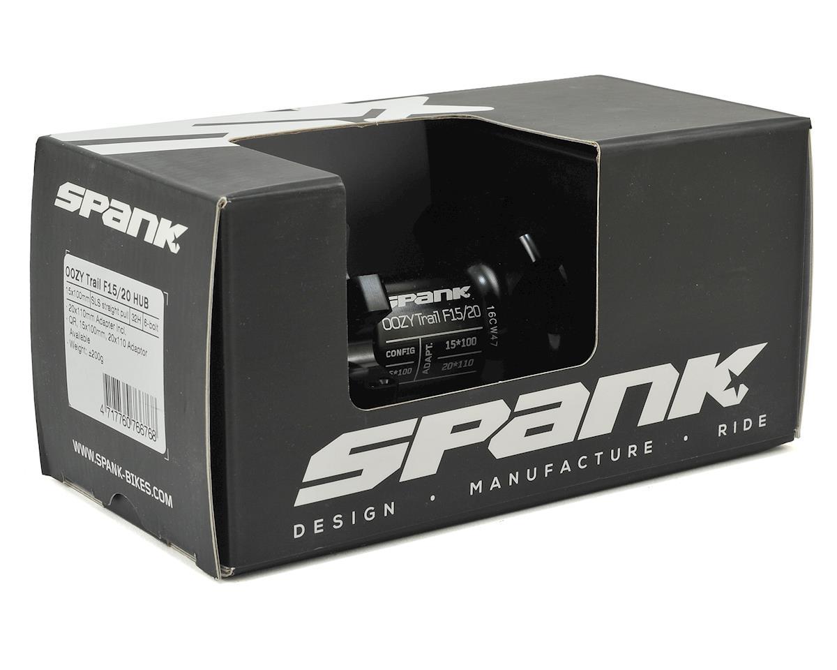 Spank Oozy Trail Front Disc Hub (Black) (32h) (6-Bolt) (15x100)