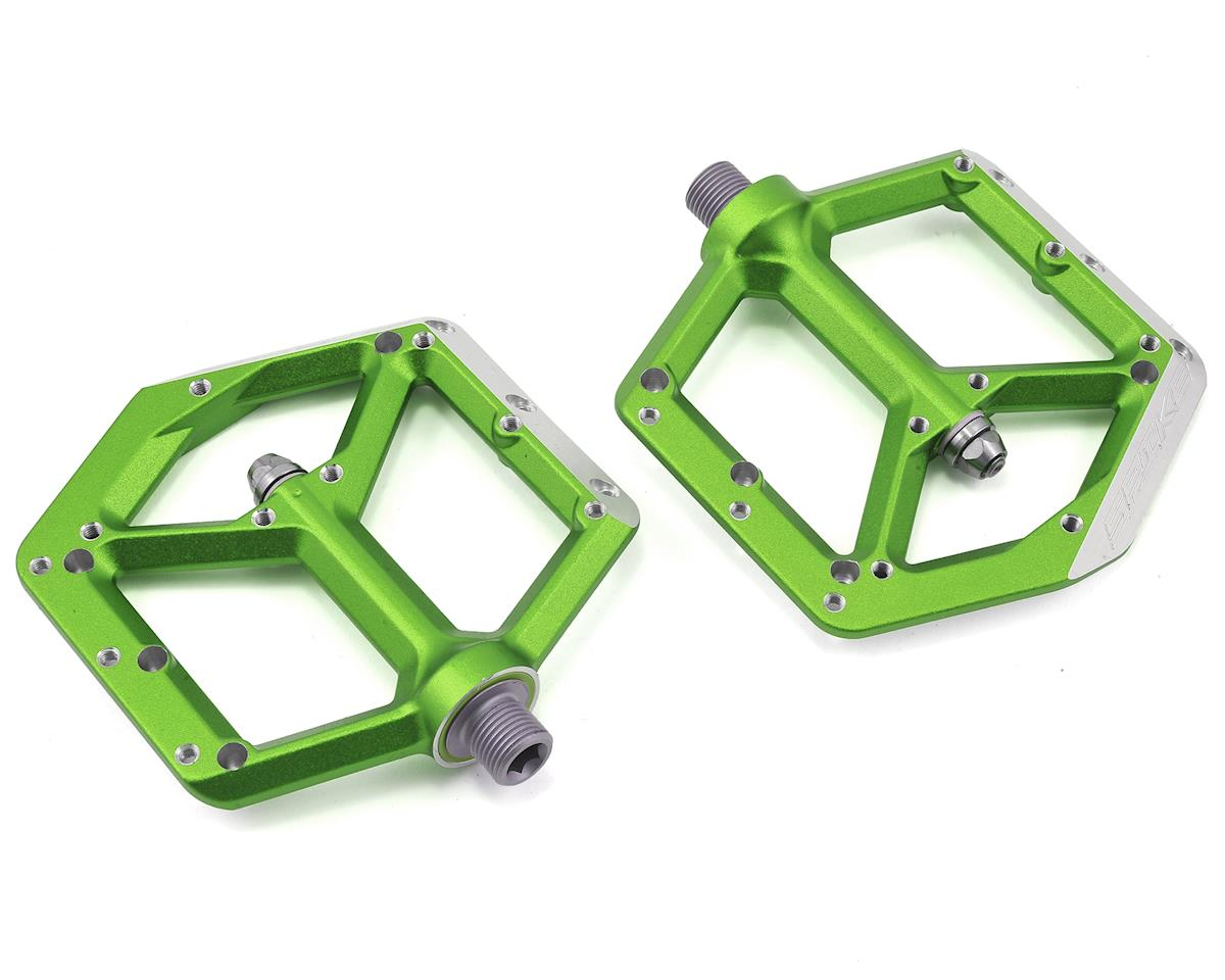 Spank Spike Pedals (Emerald Green)