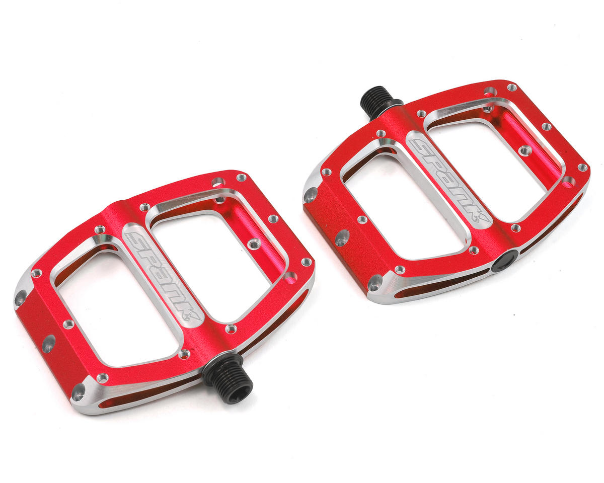 Spank Spoon Small Pedals (90mm) (Red)