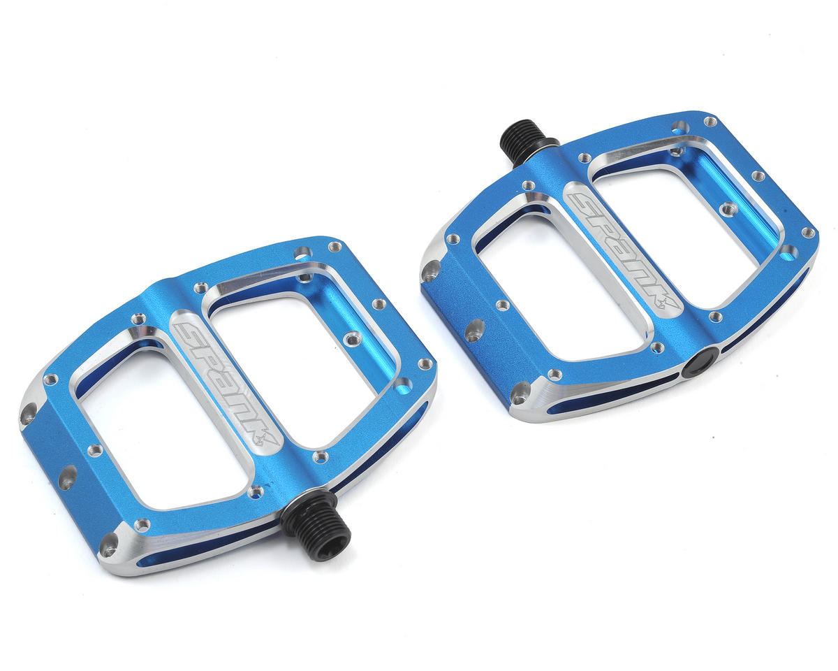 Spank Spoon Small Pedals (90mm) (Blue)