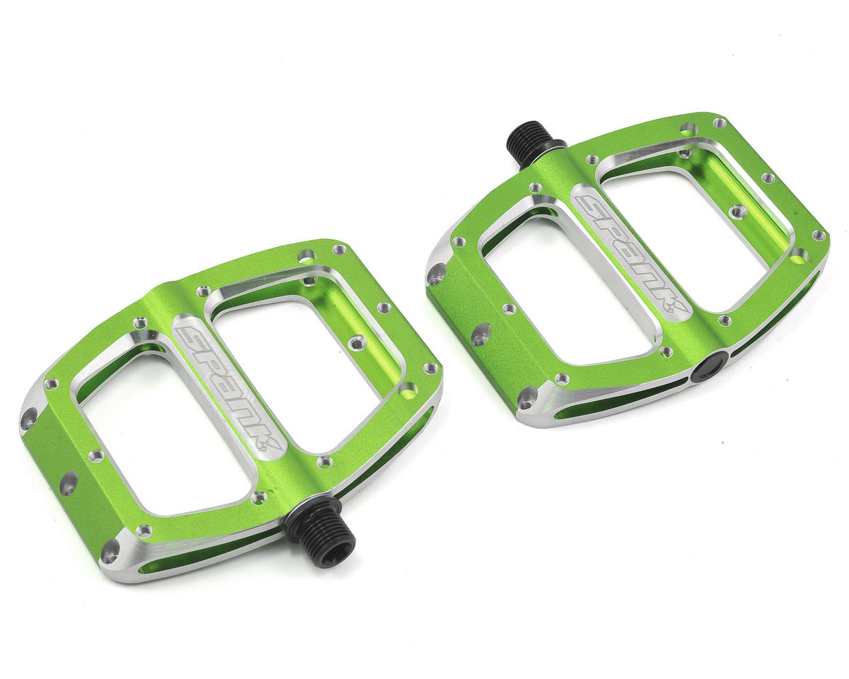 Spank Spoon Small Pedals (90mm) (Green)