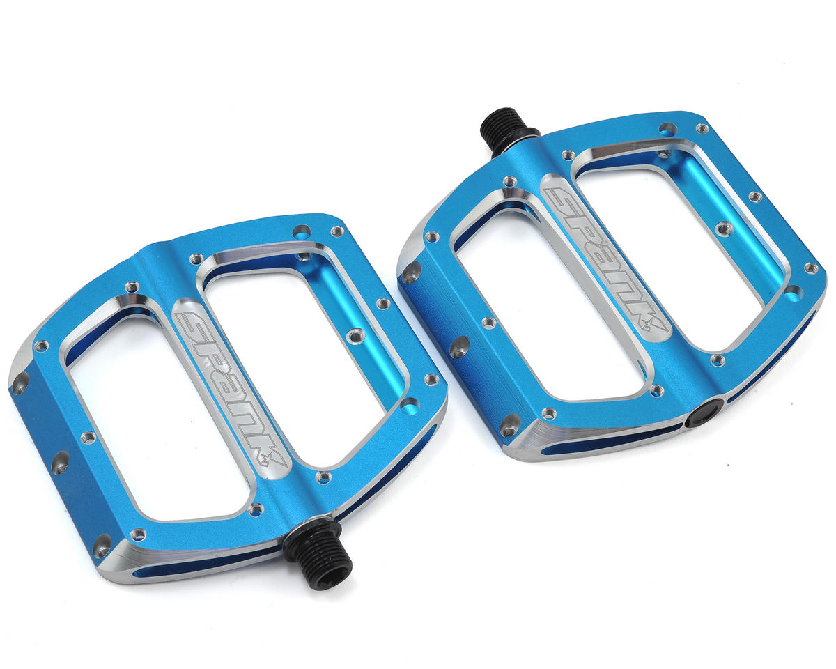 Spank Spoon Large Pedals (110mm) (Blue)