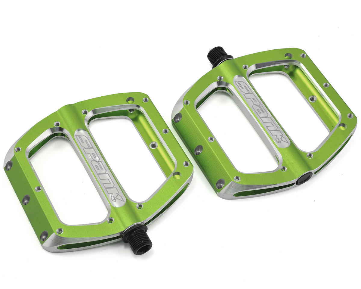 Spank Spoon Large Pedals (110mm) (Green)