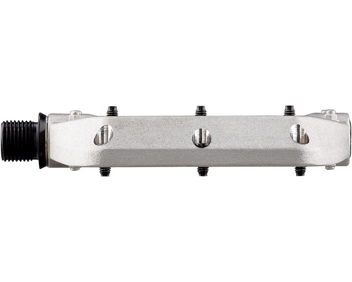 Spank Spoon DC Pedals (Raw Silver)