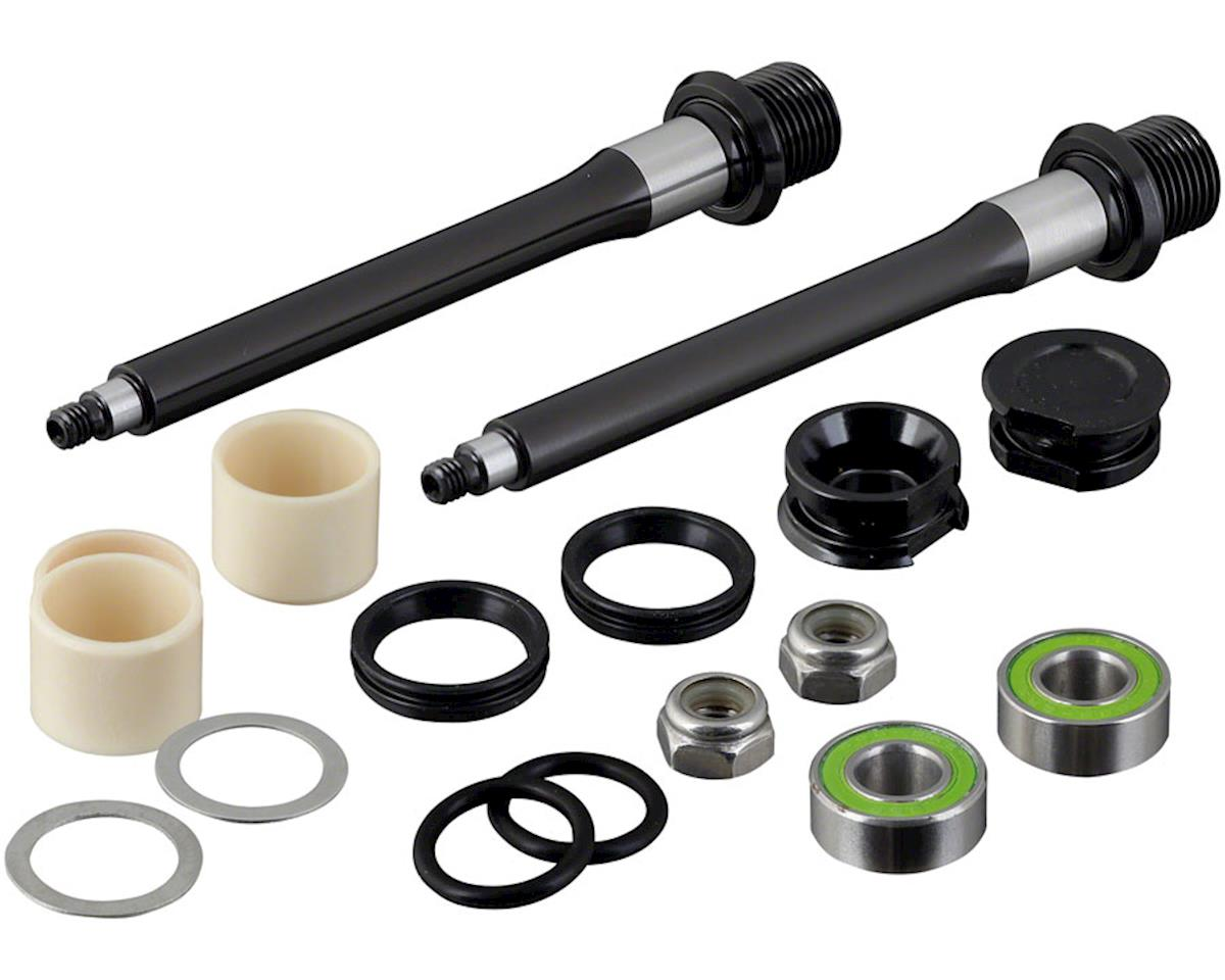Spank Pedal axle rebuild kit, Spoon 100/110