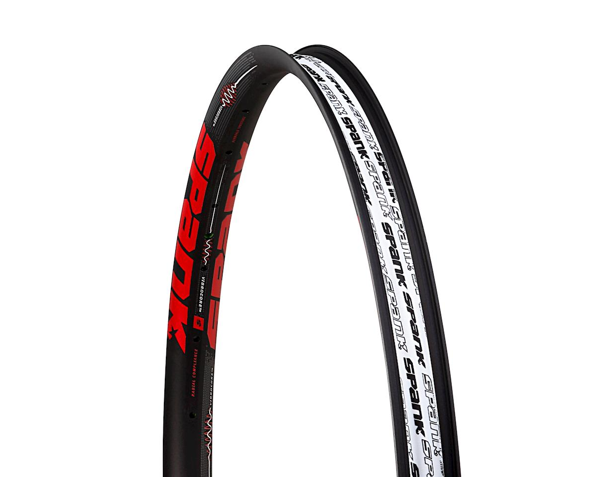 "Spank Spike 350 Vibrocore 27.5"" Rim (32H) (Black/Red)"