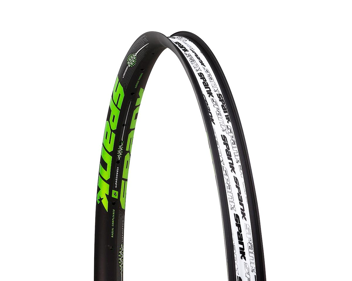 "Spank Spike 350 Vibrocore 27.5"" Rim (32H) (Black/Green)"