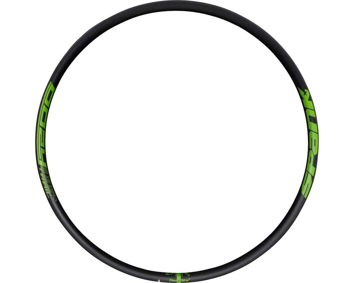Spank Oozy Trail 395+ Rim: 27.5+ x 35mm 32h, Black/Green