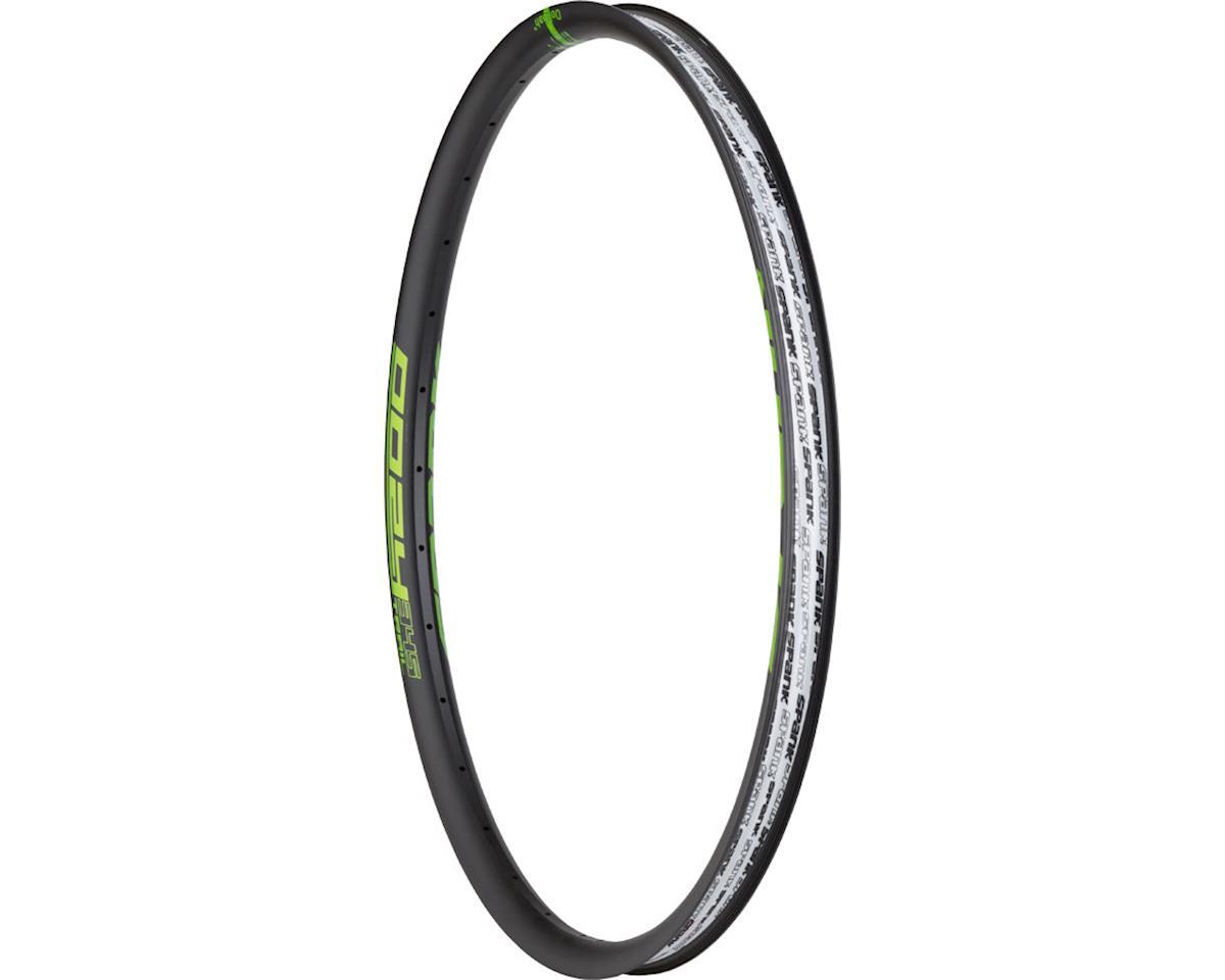 """Spank Oozy Trail 345 Rim: 27.5"""", 32h, Black/Green"""
