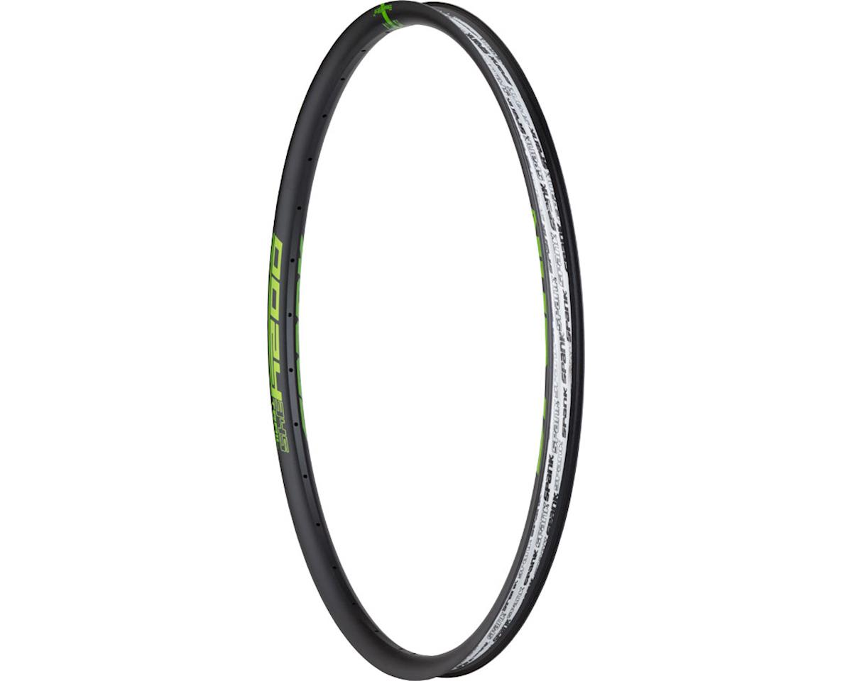 "Spank Oozy Trail 345 Rim: 29"", 32h, Black/Green"