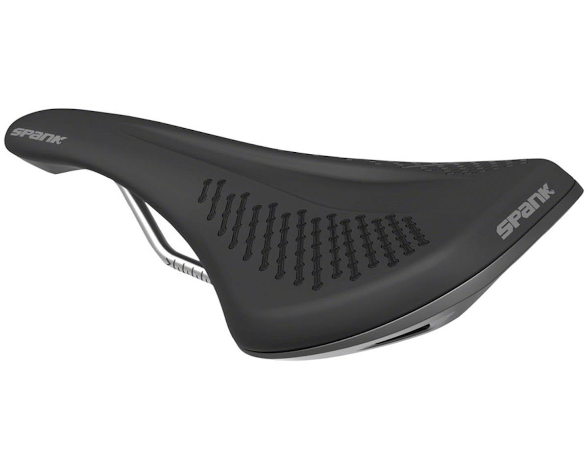 Spank Oozy 220 Saddle (Black/Grey) (144mm Width) (Unisex)