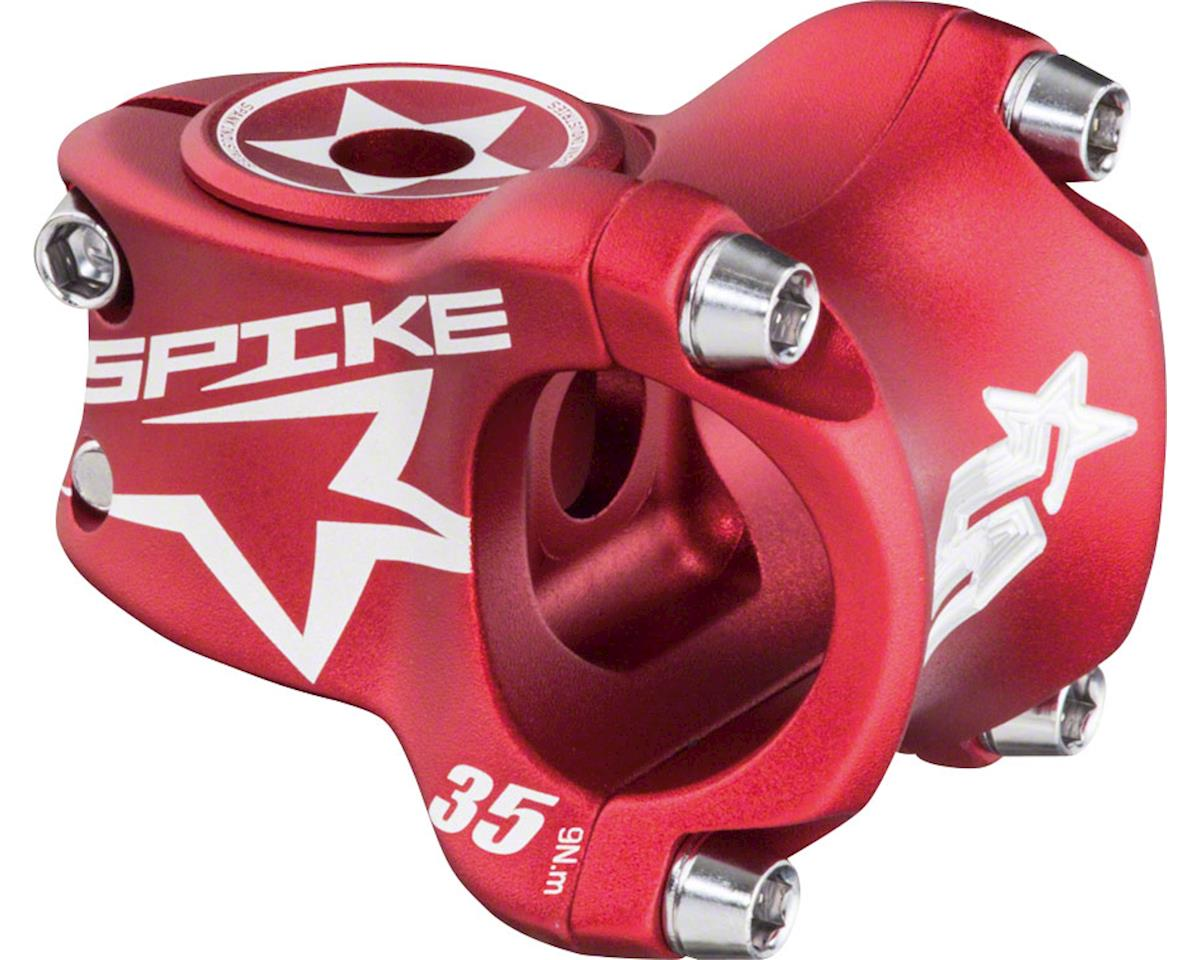 Spank Spike Race Stem 35mm Length, 31.8 Bar Clamp, Matte Red