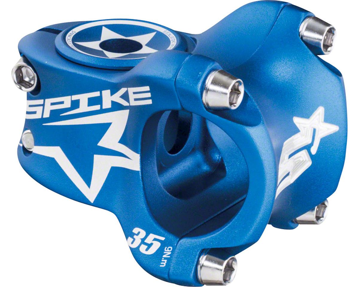 Spank Spike Race Stem 35mm Length, 31.8 Bar Clamp, Matte Blue
