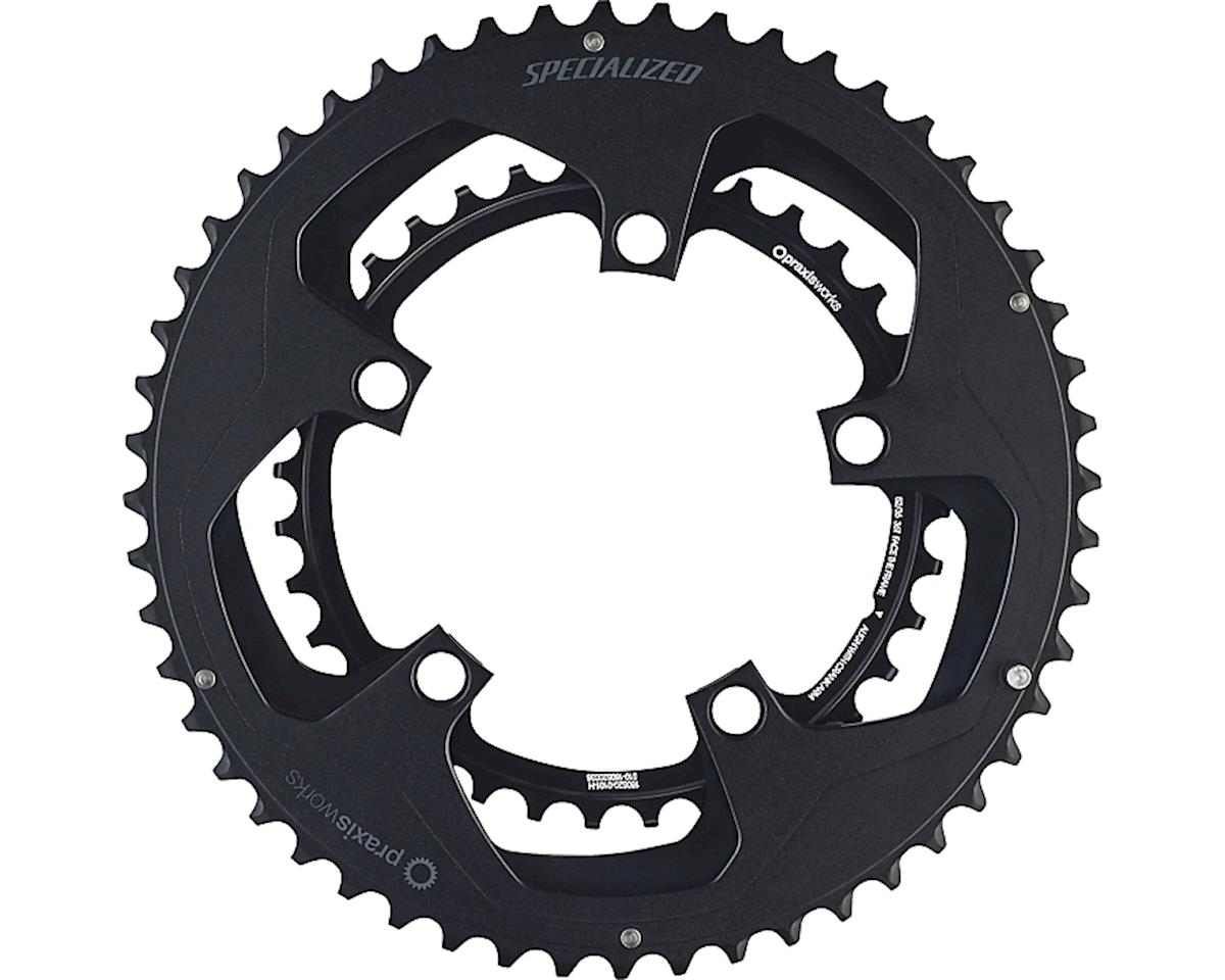 Specialized Praxis Chainrings (Black) (50/34 W/NOTCH)
