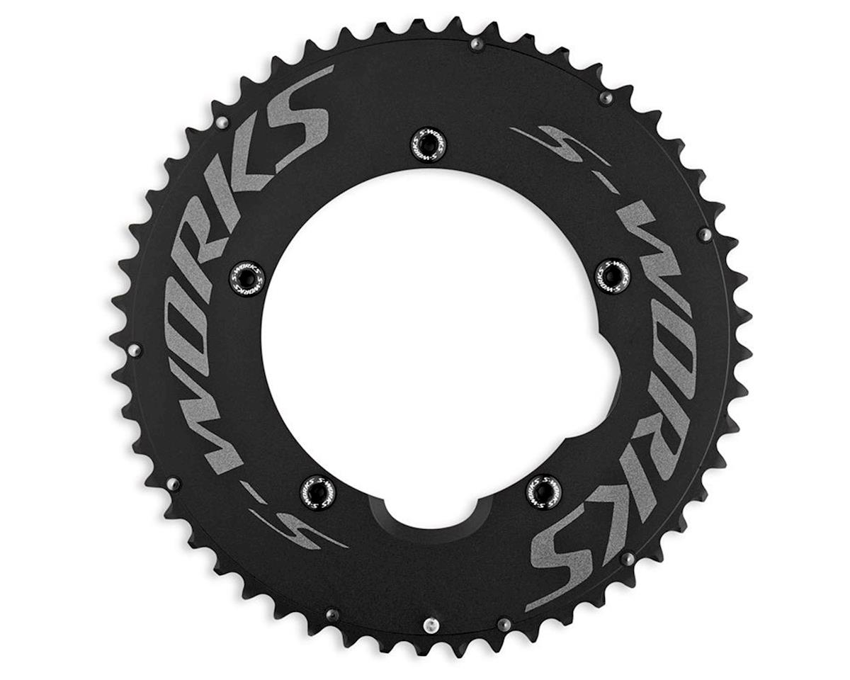 Specialized S-Works Team TT Chainring Set (Black) (55 & 44T)
