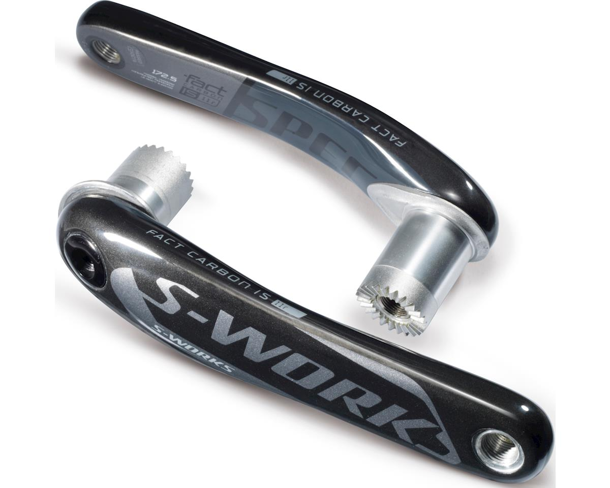 Specialized S-Works Carbon Road Crank Arms (Charcoal) (180)