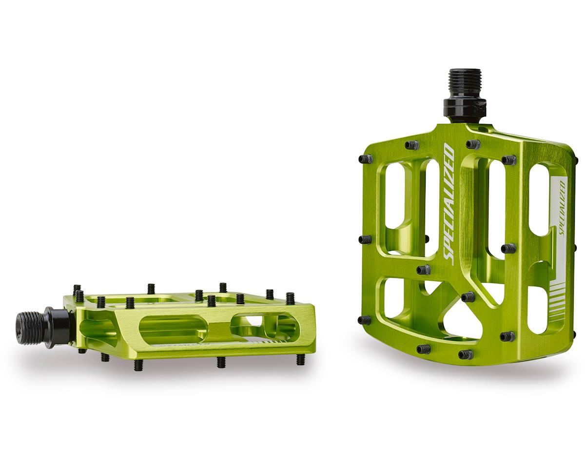 Specialized Bennies Platform Pedals (Moto Green Ano) (9/16)