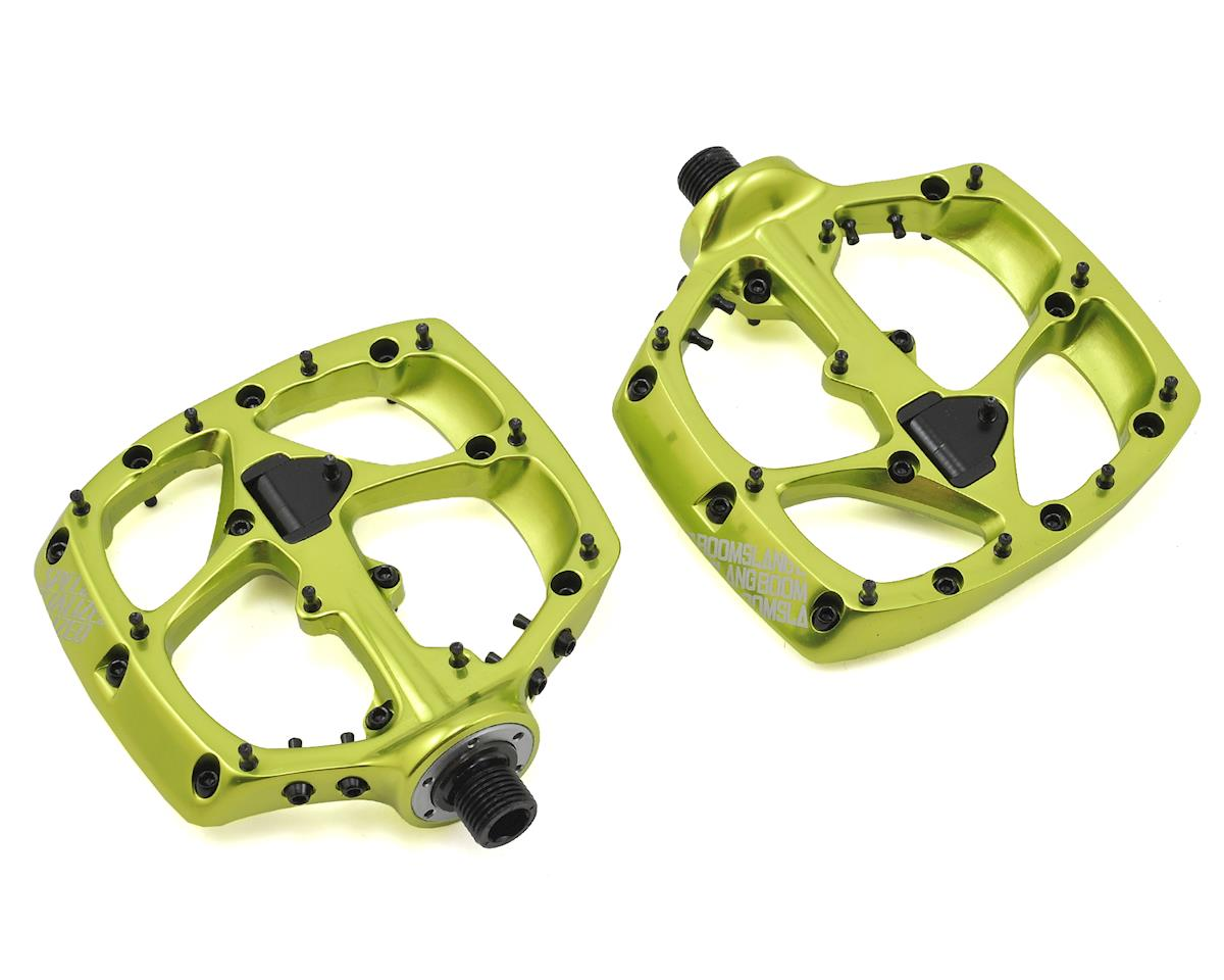 Specialized Boomslang Platform Pedals (Moto Green Ano)