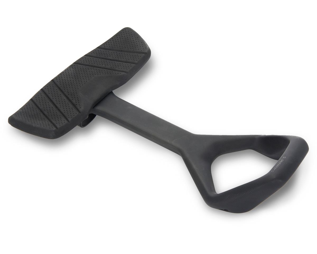 Specialized ViAS Aero Clip-on Bars - Tri/TT (Black) (One Size)