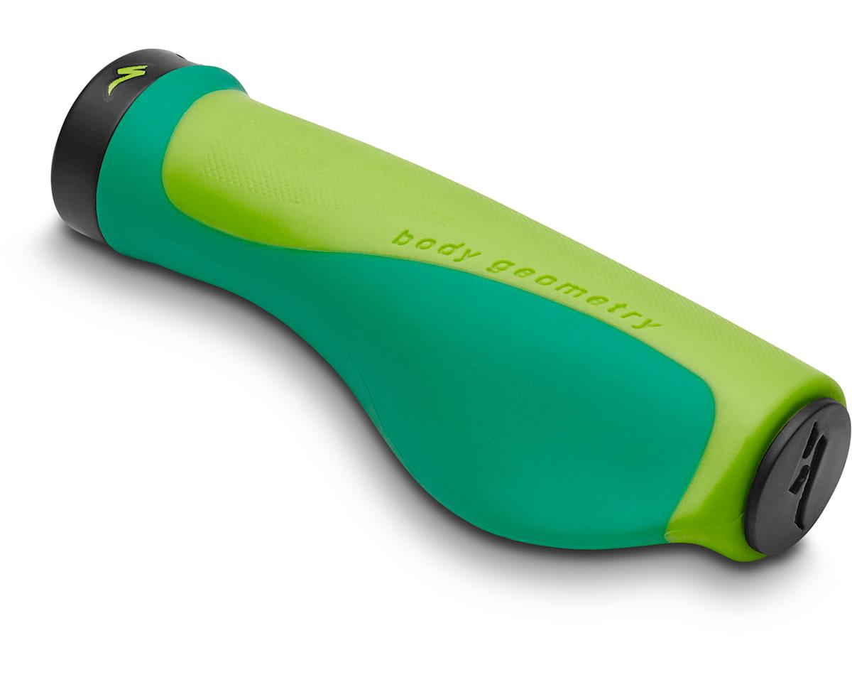 Specialized Contour Locking Grips (Limon/Tropical Teal) (Small/Medium)