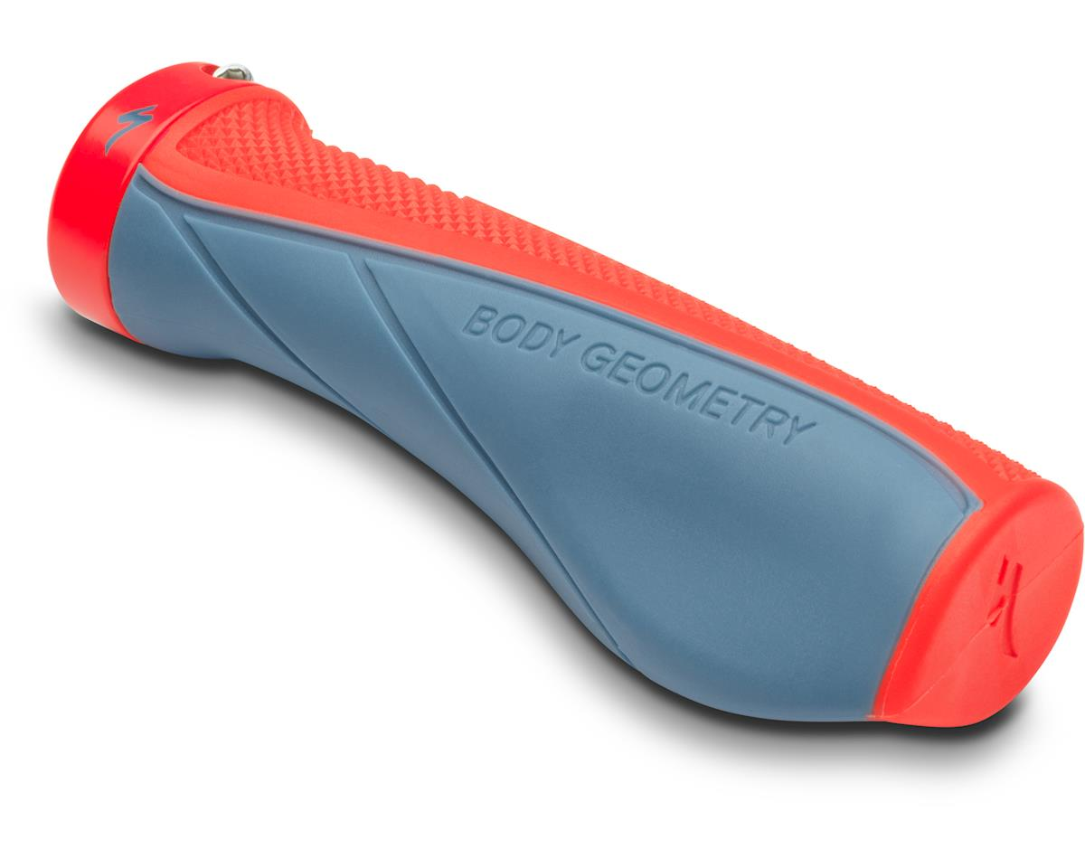 Specialized Contour XC Grips (Storm Grey/Rocket Red) (One Size)