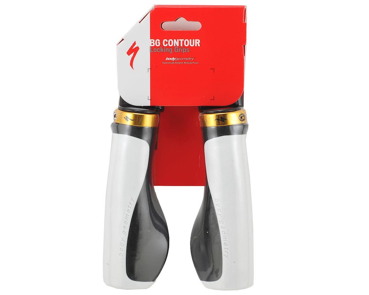 Specialized Body Geometry Contour XL Locking Grips (White/Black)