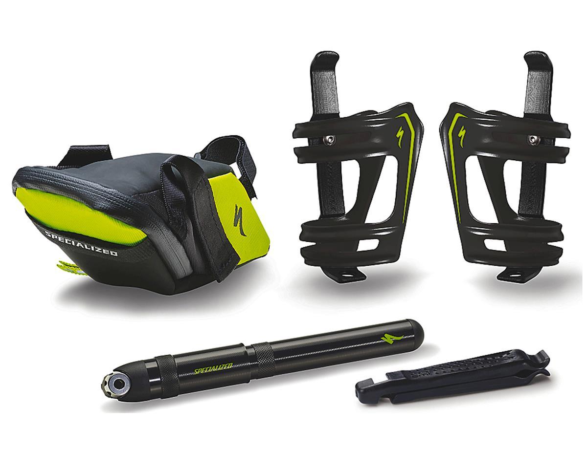 Specialized Cyclist Starter Kit (Black/Hyper Green)