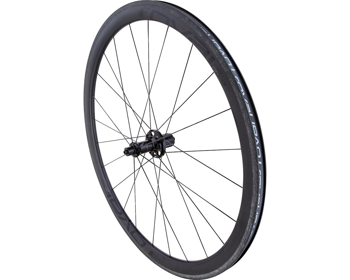 Specialized Roval CL 40 - Rear (Satin Carbon/Black) (700c)