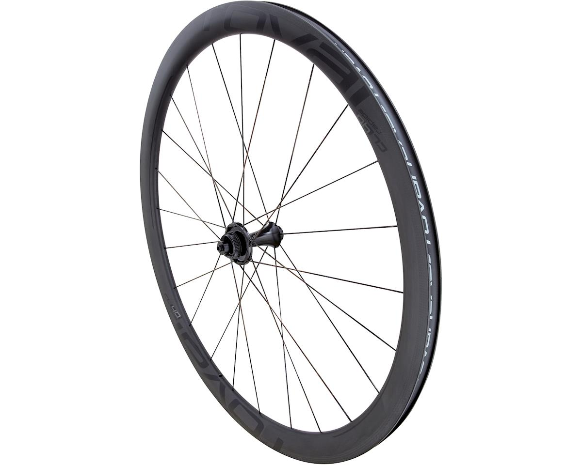 Specialized Roval CL 40 Disc - Front (Satin Carbon/Gloss Black) (700c)
