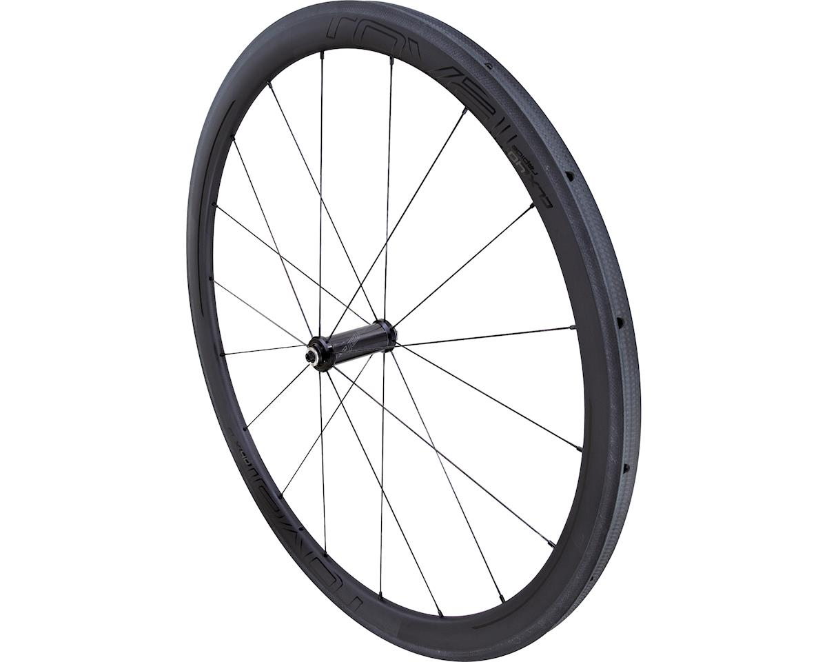 Specialized Roval CLX 40 Tubular - Front (Satin Carbon/Gloss Black) (700c)