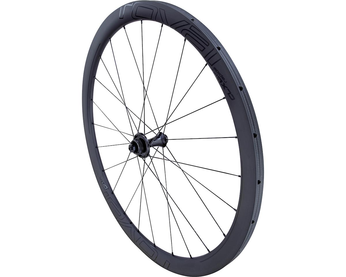 Specialized Roval CLX 40 Disc Tubular - Front (Satin Carbon/Gloss Black) (700C TUBULAR FRONT ONLY)