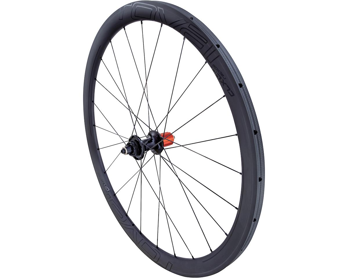 Specialized Roval CLX 40 Disc SCS Tubular - Rear (Satin Carbon/Gloss Black) (700C TUBULAR REAR ONLY)