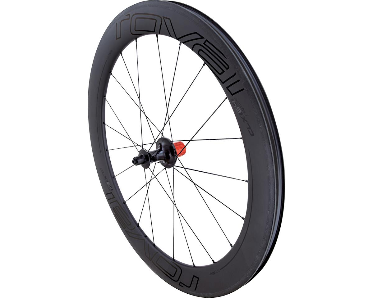 Specialized Roval CLX 64 - Rear (Satin Carbon/Gloss Black) (700c)