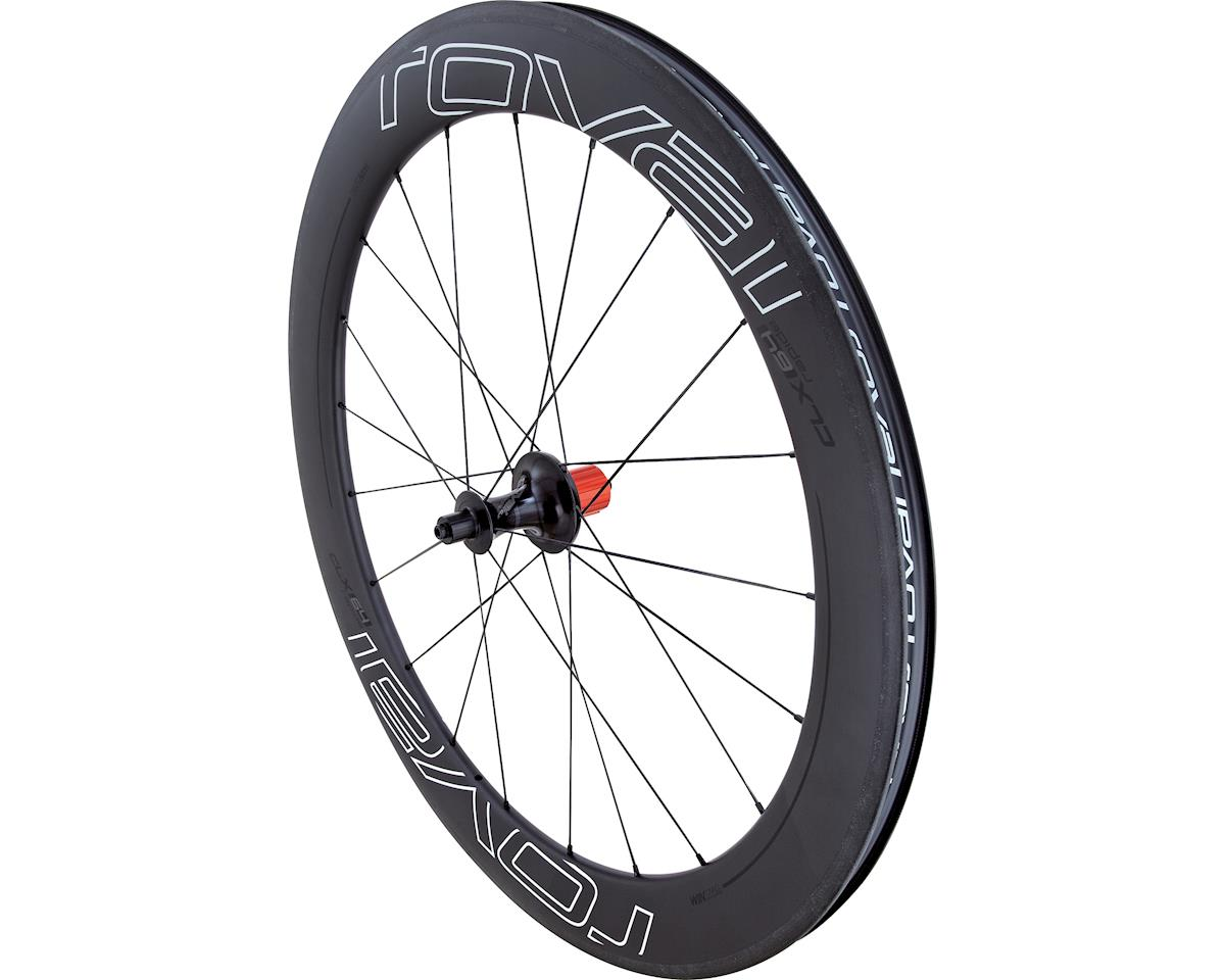 Specialized Roval CLX 64  - Rear (Satin Carbon/White/Black) (700c)