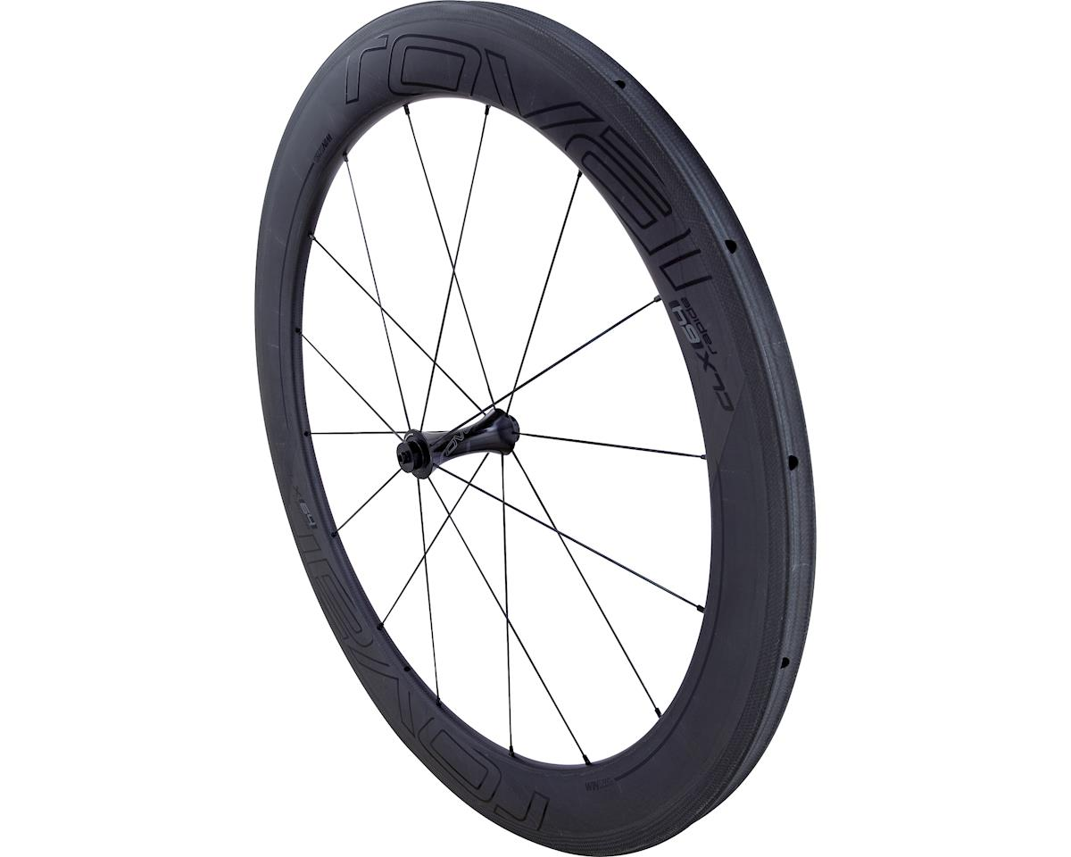 Specialized Roval CLX 64 Tubular - Front (Satin Carbon/Gloss Black) (700c)