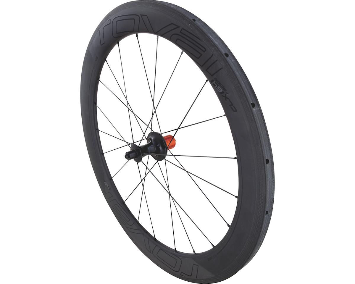 Specialized Roval CLX 64 Tubular - Rear (Satin Carbon/Gloss Black) (700c)