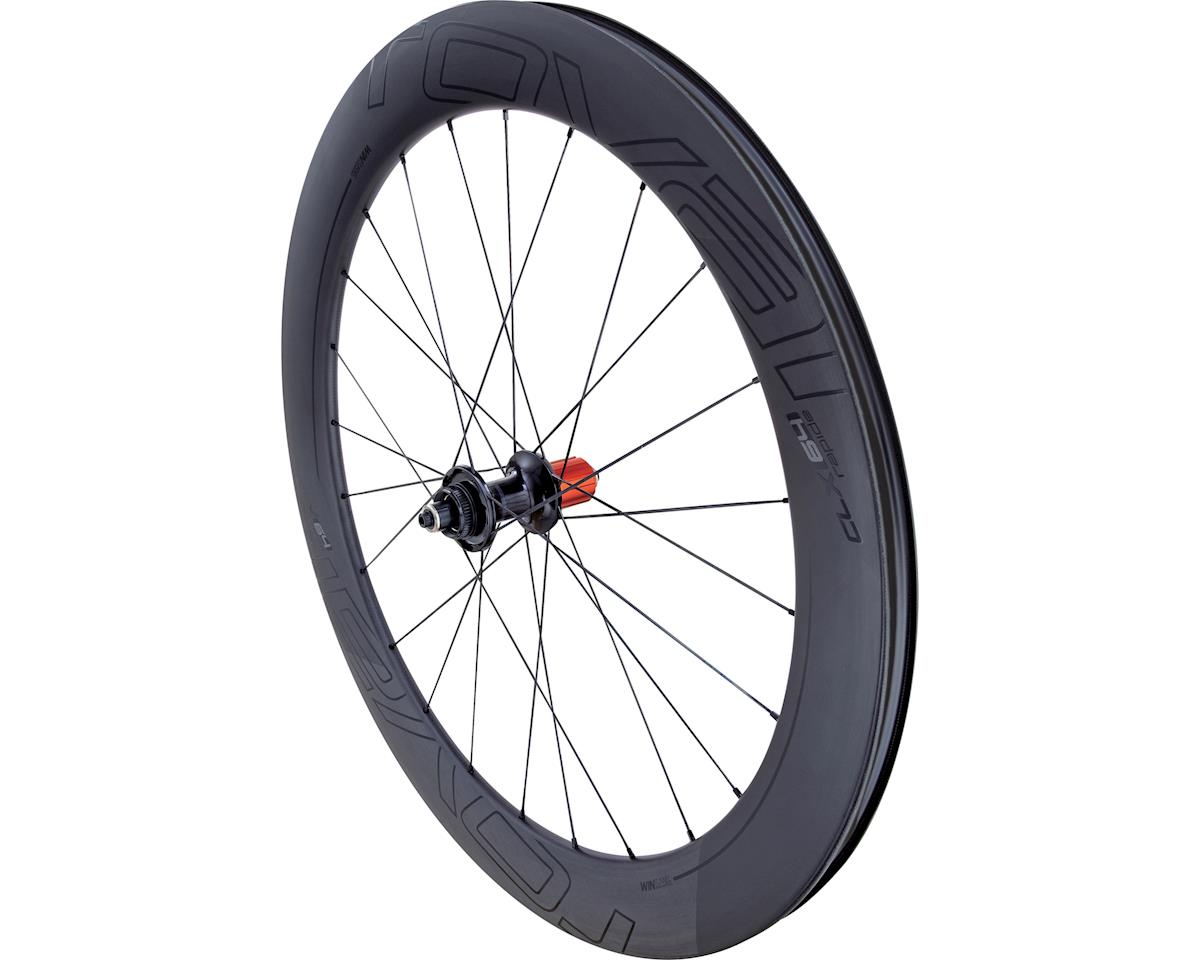Specialized Roval CLX 64 Disc SCS - Rear (Satin Carbon/Gloss Black) (700c)