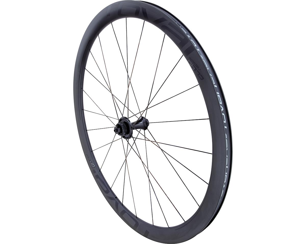 Roval CL 40 Disc - Rear (Satin Carbon/Gloss Black) (700c)