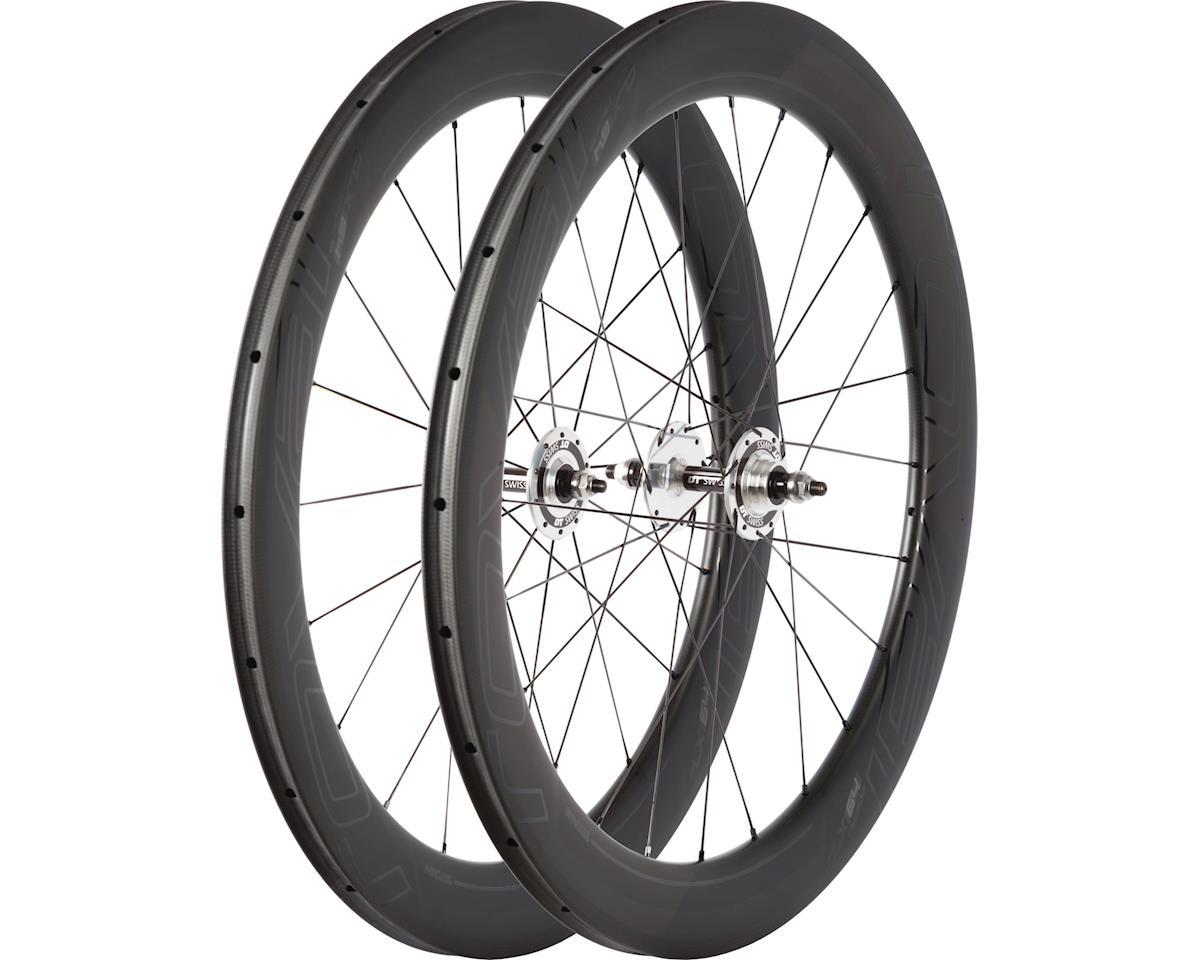 Specialized Roval CLX 64 Track -Tubular Wheelset (Satin Carbon/Gloss Black) (700C)