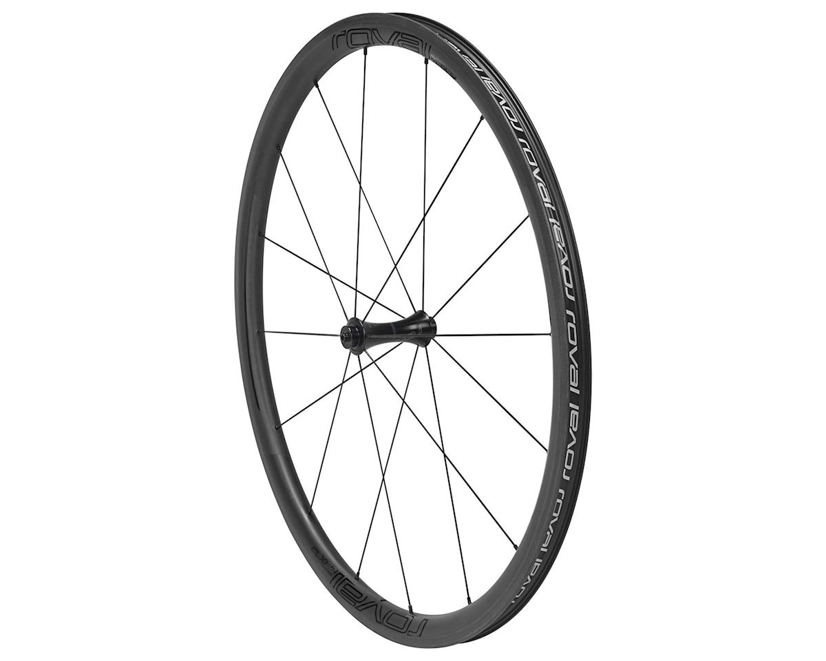 Roval CLX 32 Front Wheel (Satin Carbon/Gloss Black)