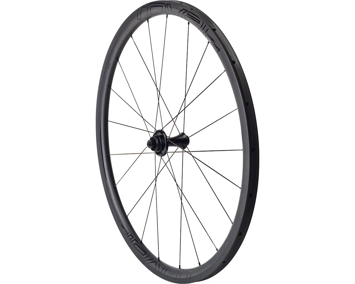 Specialized Roval CLX 32 Disc Tubular - Front (Satin Carbon/Gloss Black) (700C)