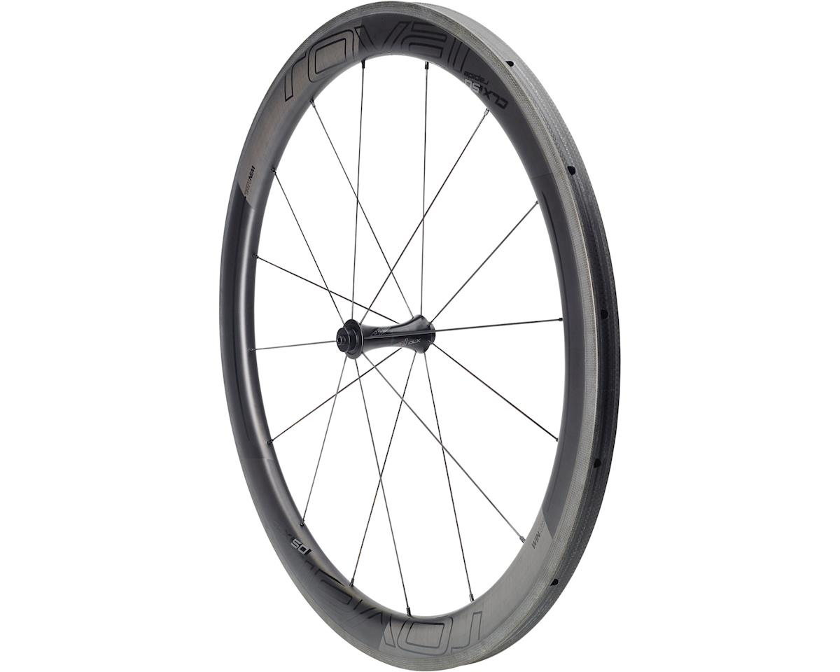 Specialized Roval CLX 50 Tubular - Front (Satin Carbon/Gloss Black) (700C)