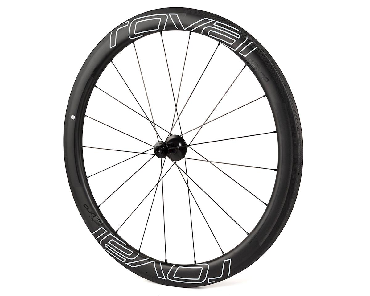 Specialized Roval Rapide CLX 50 Disc Front Wheel (Satin Carbon/Gloss Black)