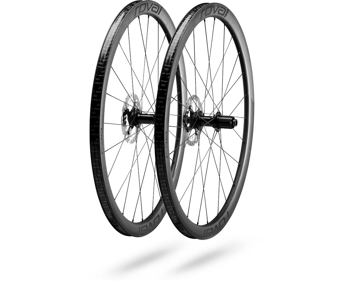 Specialized Roval C 38 Disc Wheelset (Satin Carbon/Black) (700c)