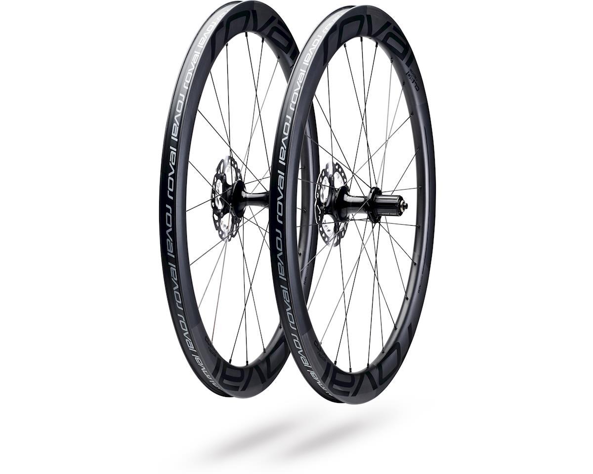 0b88d4e4584 Specialized Roval CL 50 Disc Wheelset (Satin Carbon/Black) (700C ...