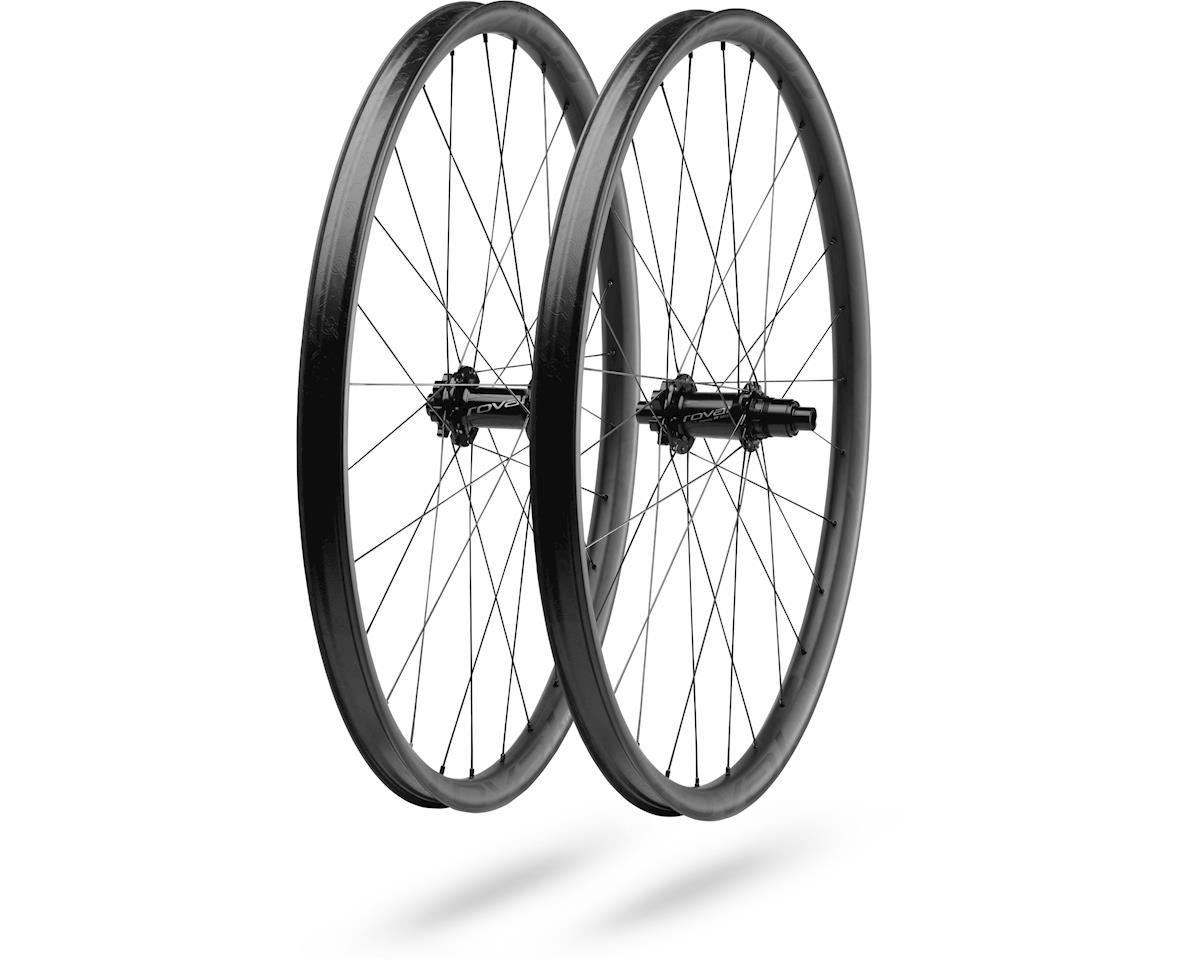 """Specialized Roval Traverse SL Fattie 29"""" Carbon Wheelset (Black) (30mm Width)"""