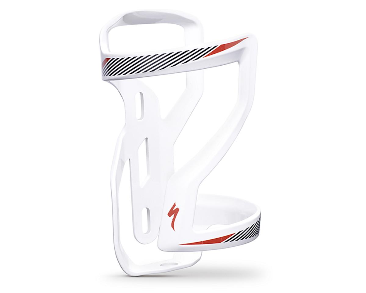 Specialized Zee Cage II Right Side Loading (White/Black/Red)