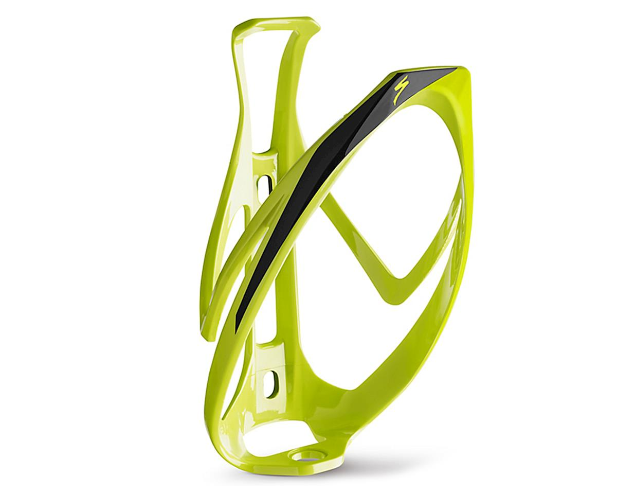Specialized Rib Cage II Road/MTB Bottle Cage (Hyper Green/Black)