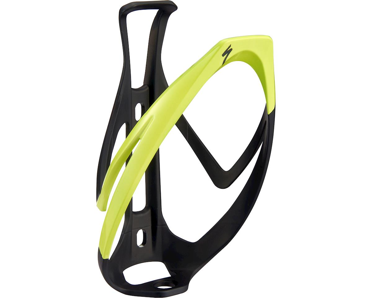 Specialized Rib Cage II Bottle Cage (Matte Black/Hyper Green)